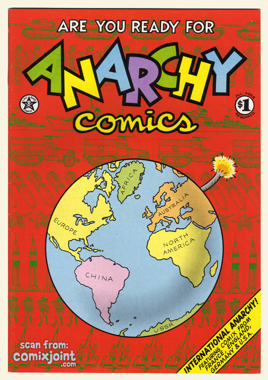 anarchy comics 1 1st