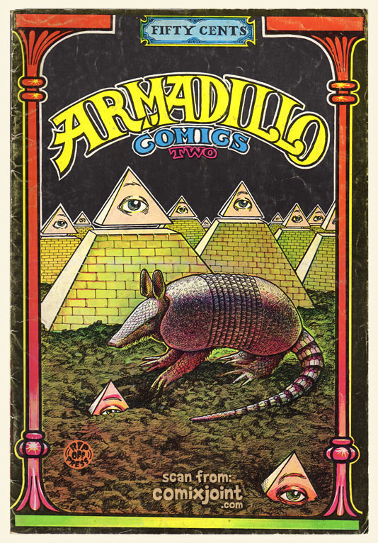 Armadillo Comics 2 1st