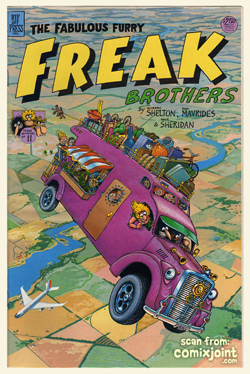 freak brothers 11 1st