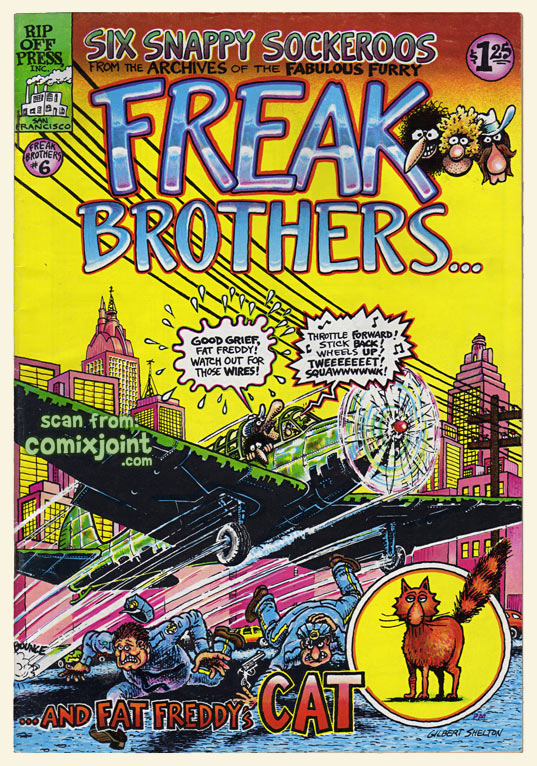 freak brothers 6 1st