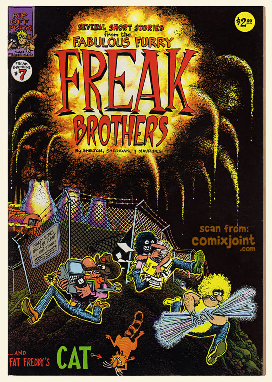 freak brothers 7 1st