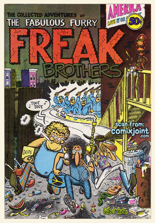 The Fabulous Furry Freak Brothers 1 1st printing at Comixjointcom