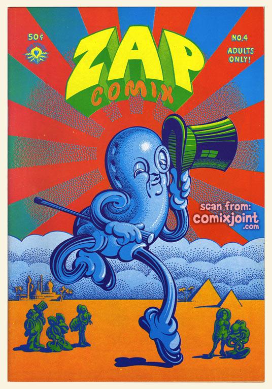 Zap 7 the Zap crew 4th  printing Underground by Crumb 1990 new