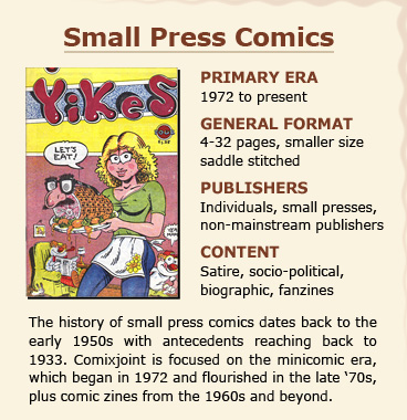 small press comics